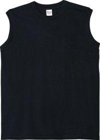 プリントスター (Printstar) 00115-CNS ヘビーウェイトスリーブレスTシャツ ブラック