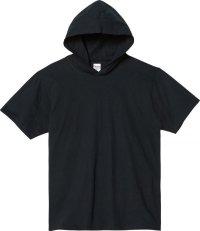 プリントスター (Printstar) 00105-CHD ヘビーウェイトフーディTシャツ ブラック