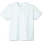 画像1: グリマー glimmer 00337 4.4オンス AVT ドライVネックTシャツ SS-LL