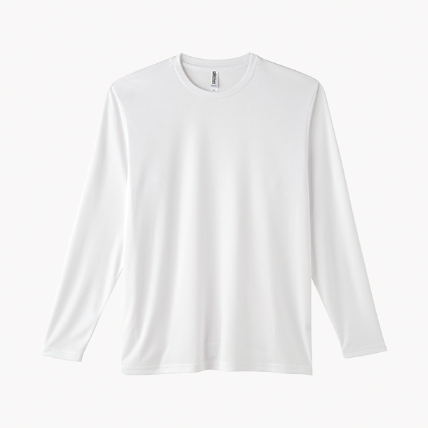 画像1: グリマー glimmer 00352-AIL インターロックドライ長袖Tシャツ  SS-LL
