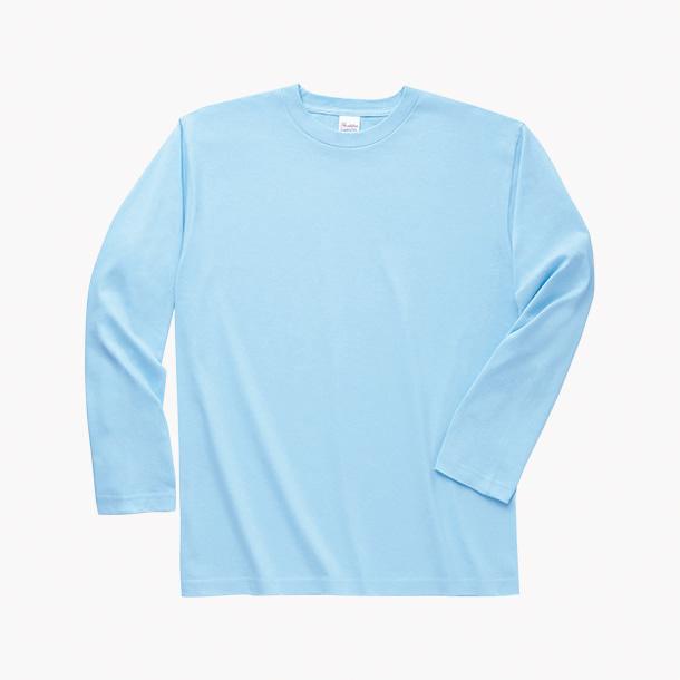 画像1: 在庫限 プリントスター (Printstar) 00101-LVC ヘビーウェイト長袖リブ無しカラーTシャツ カラー 110-160