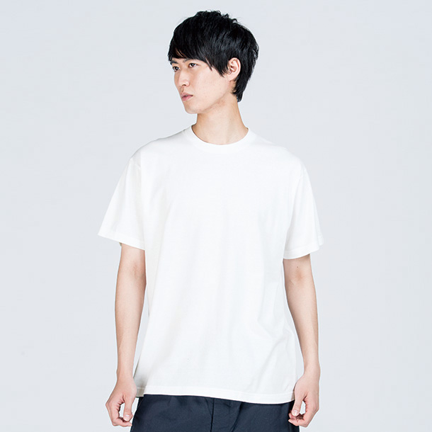 画像1: プリントスター (Printstar) 00085-CVT ヘビーウェイトTシャツ ホワイト WM-WL/S-XL