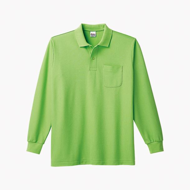 画像1: プリントスター (Printstar) 00169-VLP T/C長袖ポロシャツ(ポケット付)  SS-LL