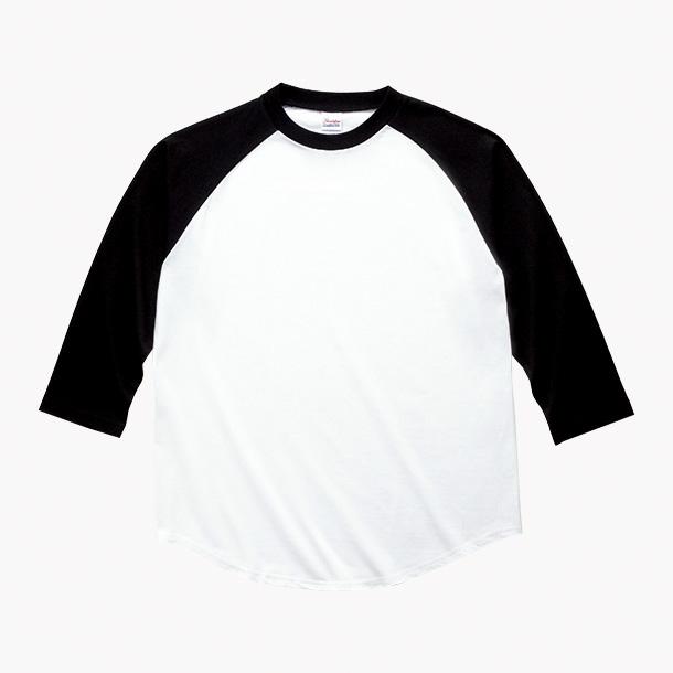画像1: プリントスター (Printstar) 00138-RBB  ラグランベースボールTシャツ 150-XL