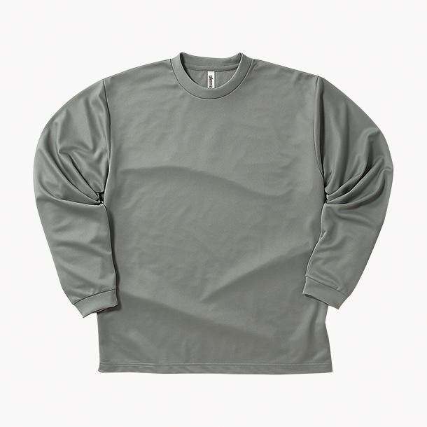 画像1: グリマー glimmer 00304-ALT ドライロングスリーブTシャツ 140-150