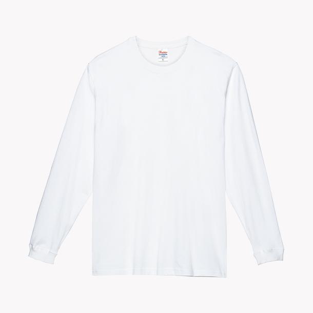 画像1: プリントスター (Printstar) 00149-HVL  スーパーヘビー長袖Tシャツ ホワイト 2XL-3XL