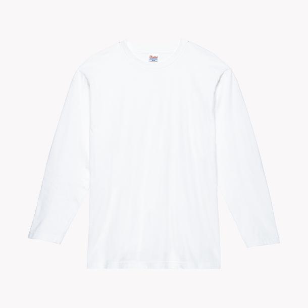 画像1: プリントスター (Printstar) 00102-CVL ヘビーウェイト長袖Tシャツ  ホワイト2XL-3XL