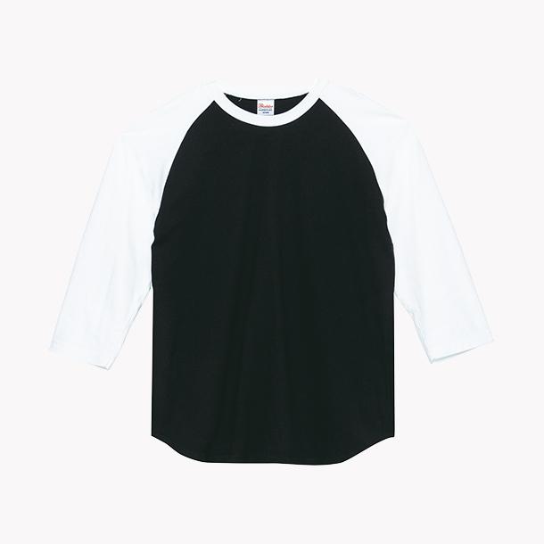 画像1: プリントスター (Printstar)00107-CRB ヘビーウェイトベースボールTシャツ  2XL-3XL