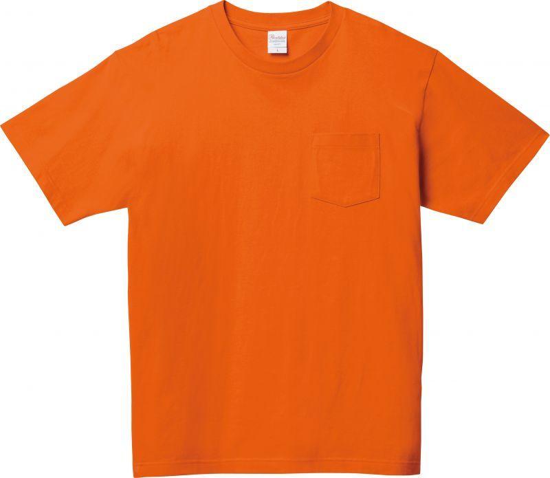 画像1: プリントスター (Printstar) 00109-PCTヘビーウェイトポケットTシャツ カラー2XL-3XL