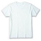 画像1: DALUC ダルクDM501 Fine Fit T-shirts  XXL ホワイト